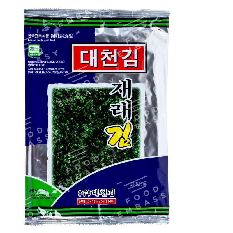 Daechon alga tostada jere