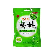 Green tea candy