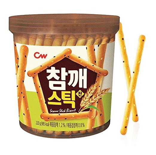 Sesame sticks biscuits